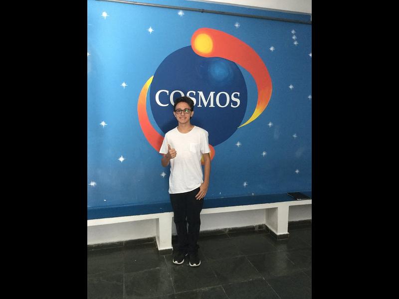 Parabéns HEINRICH ZAGO DOI (Terceirão 2016), nosso querido aluno aprovado em Ciência da Computação – UNESP! Colégio Cosmos formando vencedores!